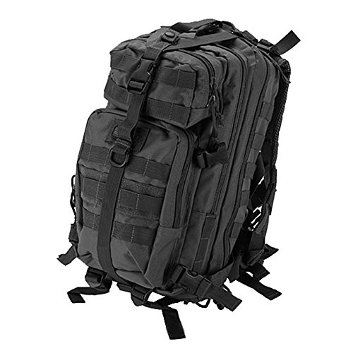 GXG PAINTBALL TASCHE MINI TACTICAL BACKPACKER/RUCKSACK - BALINES DE PLASTICO PARA AIRSOFT  COLOR NEGRO  TALLA STANDARD