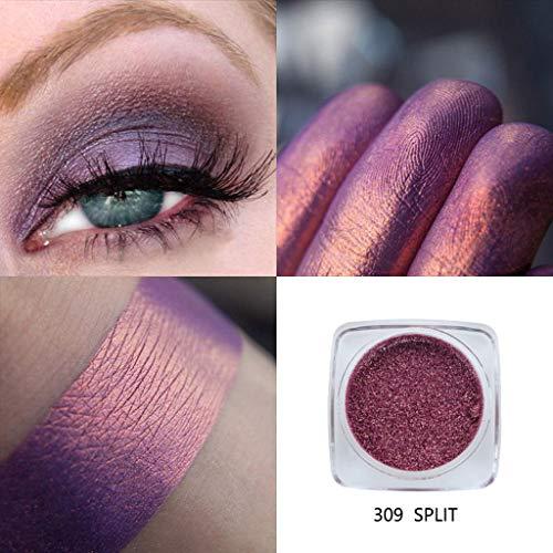 LEEDY Shimmering Colors Fard à PaupièRes Phoera Glitter Powder MéTallique Eye Cosmetic