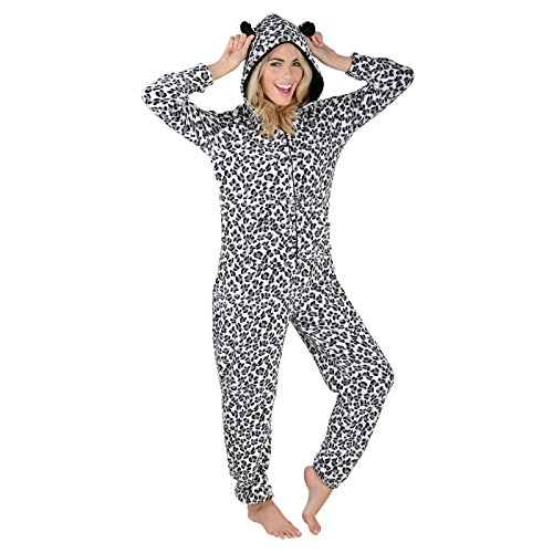 Autumn Faith Ladies Fleece All in One Piece Nightwear Test