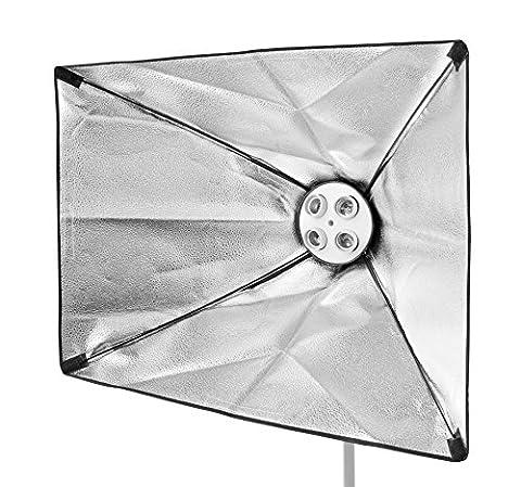 BRESSER SS-19 Softbox 60x90cm pour 4 lampes en spirale