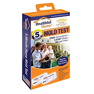 Healthful Home 5-Minute Mold Test. Aspergillus/Penicillium and Stachybotrys. Works Even If You Can't See The Mold. No More Waiting for Labs. Includes Expert Consultation. Most Sensitive Test Available. by HEALTHFUL HOME