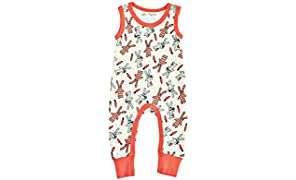 Cat & Dogma - Certified Organic Infant/Baby Clothing Bunny Jumper (0-3 Months)