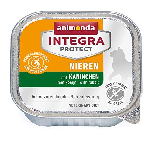 Animonda Integra Protect Nieren mit Kaninchen 16 x 100 g Schalen, 1er Pack (1 x 1.6 kg)