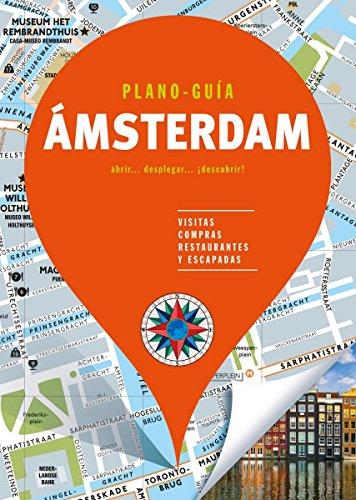 Ámsterdam (Plano - Guía): Visitas, compras, restaurantes y escapadas (Plano - Guías) por Autores Gallimard Autores Gallimard