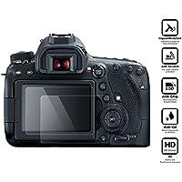 BlueBeach® 2 Piezas Protector de Pantalla Vidrio Templado para Canon EOS 6D MARK II DSLR (0.3mm 2.5D 9H Hardness)