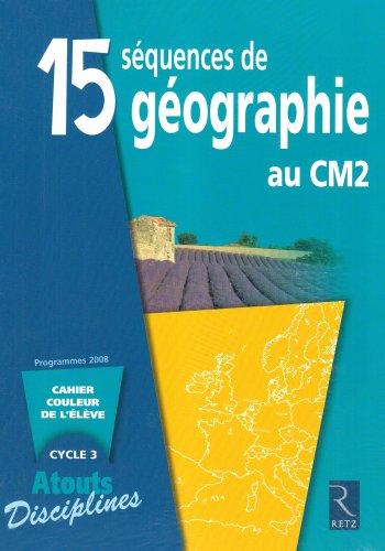 Pack 6ex Cahiers Eleve Geographie CM2