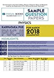 Oswaal Karnataka PUE Sample Question Papers for PUC II Physics (March 2018 Exam)