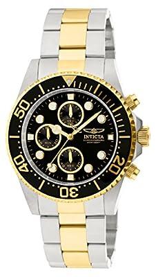 Invicta 1772 Pro Diver Reloj para Hombre acero inoxidable Cuarzo Esfera negro de INVICTA
