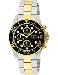 Invicta Pro Diver Men's Chronograph Quartz Watch with Stainless Steel Bracelet – 1772