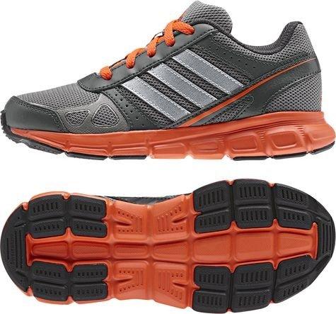 Adidas Hyperfast K Coleur: Grey-Orange - Taille: 33