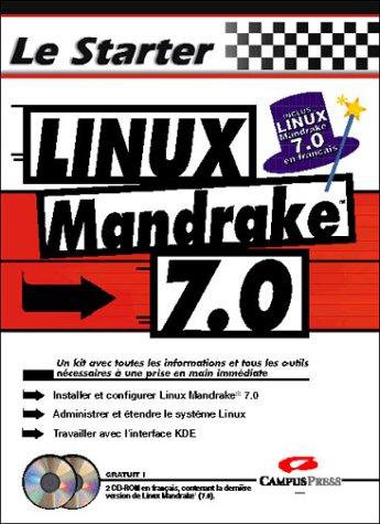Linux Mandrake 7.0. Avec 2 CD-Roms par Collectif