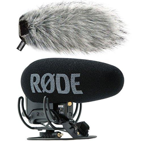 Rode VideoMic Pro+ Microfono per videocamera + antivento KeepDrum WS03