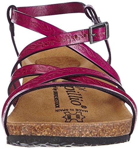 Papillio - Bella, Scarpe con cinturino Donna Rosa (Pink (FIORI PINK))