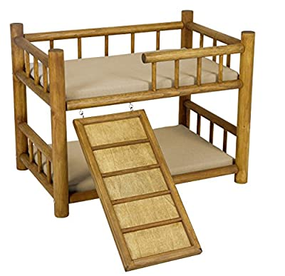 Kerbl Bunk Bed Best Dream with Spiral Staircase, 60 x 40 x 45 cm produced by Kerbl - quick delivery from UK.