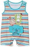 boboli 135100, Mono para Bebés, Multicolor (Estampado Raya Étnica), 62 (Tamaño del Fabricante:3M)