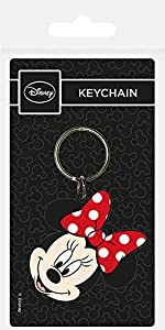 Key chain Disney - Llavero de Goma Minnie Head