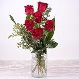 FLORES FRESCAS FLORACHIC - 6 ROSAS ROJAS - ENVÍO GRATIS EN 24 HORAS. Flores frescas, enviadas gratis directamente del campo a tu casa, sin intermediarios. 7 DÍAS DE FRESCURA GARANTIZADA.