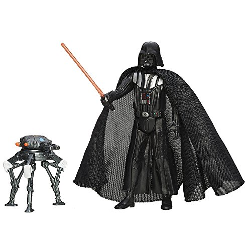 Hasbro B3966ES0 - Star Wars E7: The Force Awakens, Darth Vader, personaggio da ca. 9,5 cm