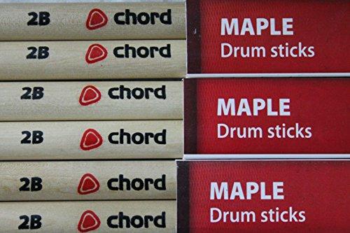 Maple sticks 2BN - 12 pairs
