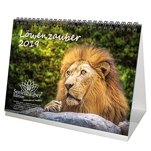 León mágica · DIN A5· Premium mesa/Calendario 2019· África · Animales ·...