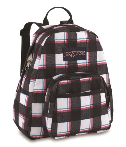 JanSport Big Student Classics Series Backpack - Black/White Saddles