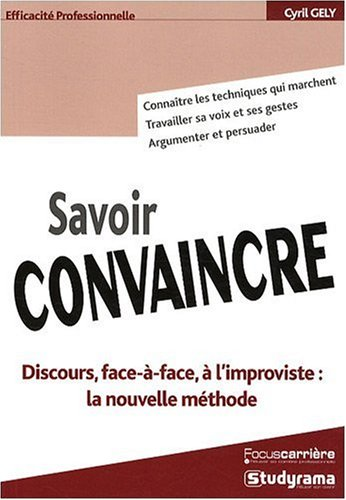 Savoir Convaincre