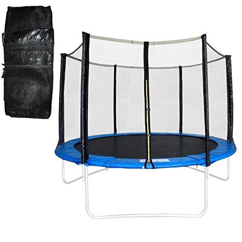 Terena® Trampolin Sicherheitsnetz 300-305 cm Durchmesser, Ersatznetz für Trampoline mit 6 Stangen BZW 3 U-Füssen
