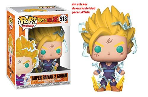 Funko Pop! Dragon Ball Z - Figura de Vinilo Super Saiyan 2 Gohan # 518