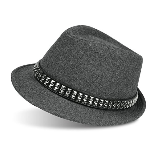 Chapeaux de laine/casquettes vintage couple
