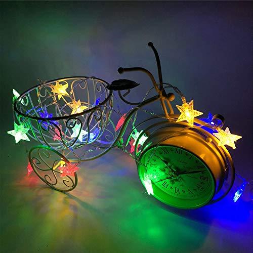 letter54 Mini Deko 2019 Neu Romantische 2M 10 Led Crystal Clear Star Fairy String Light Wedding Party Outdoor Decor Lamp
