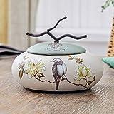 PLL American Style Haushalt Kreative Aschenbecher Mit Abdeckung Keramik Aschenbecher Persönlichkeit Multifunktions Aschenbecher
