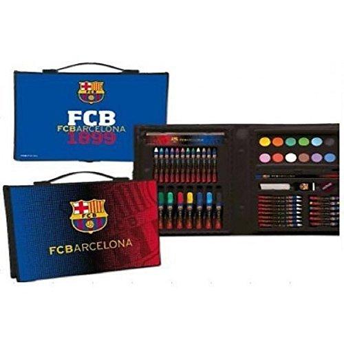 Export.CM 097222 FC Barcelona - Papelería (53 Piezas), Multicolor