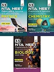 33 Years NEET Chapterwise & Topicwise Solved Papers Physics, Chemistry & Biology (2020 - 1988) 15th