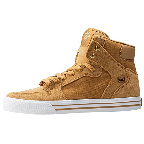 Supra Herren Vaider High-Top Gold/White