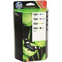 HP C4906AE + C4907AE + C4908AE + C4909AE 940XL Inkjet