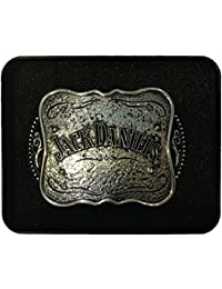 JACK DANIEL'S BELT BUCKLE WITH COLLECTOR'S TIN
