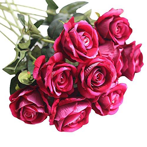 Likecrazy Künstliche Beauty Lovely Blumen Küche Haushalt Wohnen Möbel Wohnaccessoires Wohnaccessoires Deko Dekoartikel Kränze Fake Flowers(Multicolor2,one size)