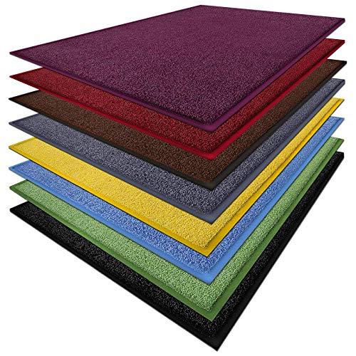 Fußmatte Sky Color | strahlende Farben | Schmutzfangmatte mit Gummirand in passender Farbe | sehr...