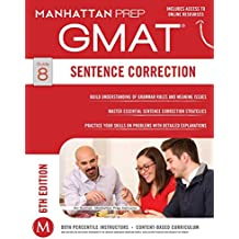 GMAT Sentence Correction (Manhattan Prep GMAT Strategy Guides) (English Edition)