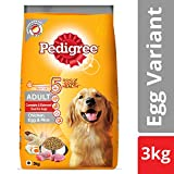 #9: Pedigree Adult Dry Dog Food (High Protein Variant) – Chicken, Egg & Rice, 3 Kg Pack
