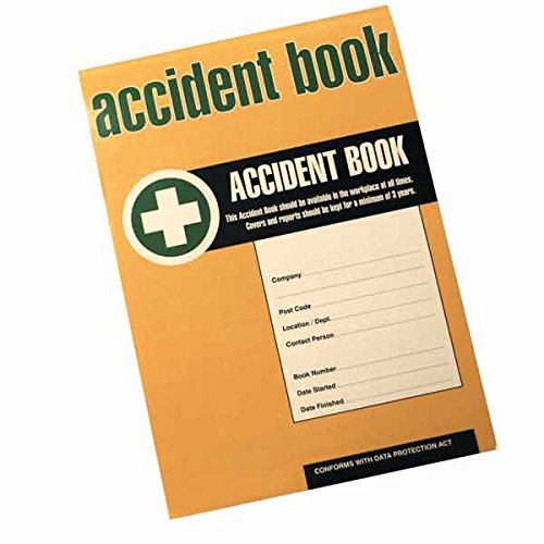 HSE Compliant Business / Workplace Accident Injury Record Book