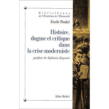 Histoire, dogme et critique dans la crise moderniste