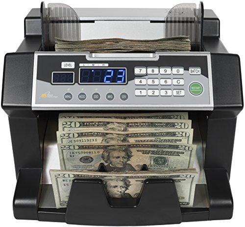 Royal Sovereign Geld Zählen Maschine, High Speed Bill Zähler, UV, MG, IR Falschgeld Bill Detektor, vorne (rbc-3100) (Geld Zähler Maschine)