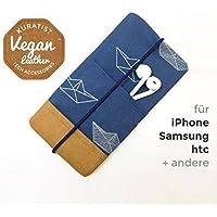 iPhone-Tasche Paper Boat / Handytasche / Smartphone Case / Vegane Handytasche / Vegane Accessoires / Geschenk für sie/ihn / Ostergeschenk
