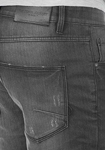 SOLID Moy Herren Jeans-Hose lange Hose Denim aus hochwertiger Baumwollmischung Slim Fit Dark Grey (9650)