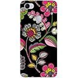 MADANYU Handdrawn Floral Printed Floral Pattern Designer Printed Hard Back Shell Case For Oppo F7