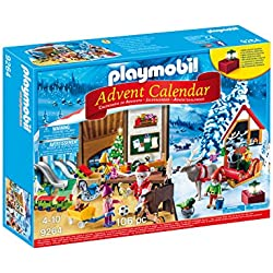 Playmobil Calendario de Adviento-9264 Taller de Navidad, (9264)
