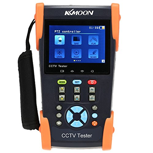 KKmoon 3,5 Pollici LCD CCTV Telecamera Tester Video Monitore PTZ/Cavo di Tracer/Metro di Video Livello/IP Scan/Port Flashing HVT-2601