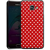 Samsung Galaxy A3 (2016) Housse Étui Protection Coque Points Rockabilly Robe