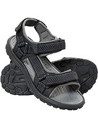 Mountain Warehouse Sandalias Crete para hombre - Zapatos de verano resistentes, agarre firme, plantilla acolchada, forro de neopreno - Para viajar y caminar en primavera